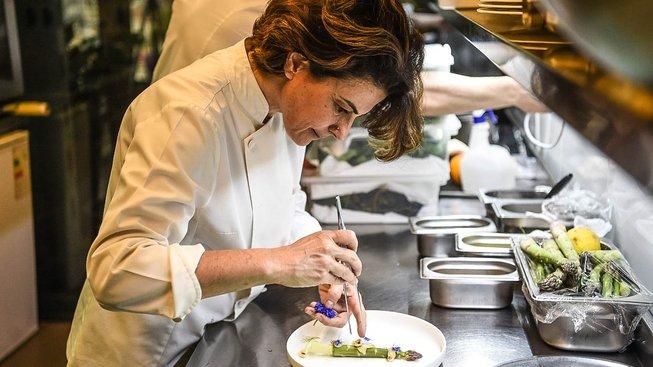 Aylin Yaziciogluová pracuje na zlepšení pověsti turecké kuchyně v restauraci Nicole v Istanbulu