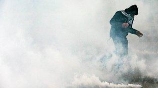 Protesty ve Francii proti novému pracovnímu právu loni na podzim