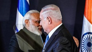 Módí a Netanjahu