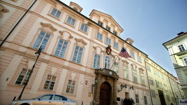 Americká ambasáda v Praze, Ilustrační fotografie