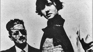 Lucia a James Joycovi v roce 1924. Otec a dcera si byli velice blízcí