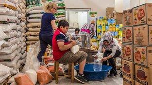 Humanitární pomoc pro uprchlíky v Turecku