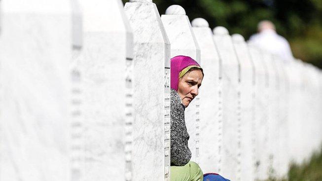 Pamětní centrum nedaleko Srebrenice