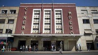 Jednou z architektonických zajímavostí Asmary je kino Impero, které je představitelem stylu art deco
