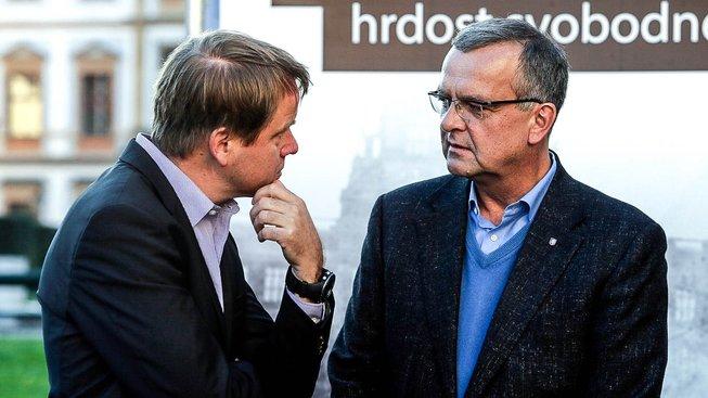 Martin Bursík a Miroslav Kalousek