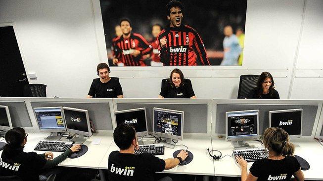 Pohled do gibraltarského sídla společnosti Bwin.com