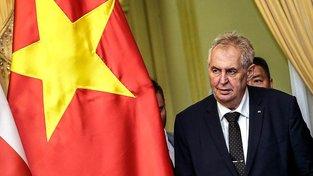 Zeman pomáhá českým podnikatelům nejen v Číně