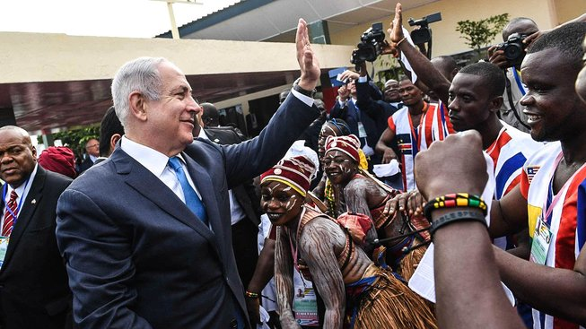 Netanjahu v Monrovii