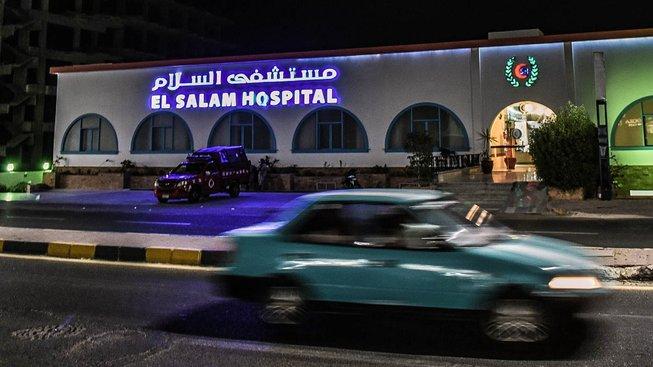 Egyptská nemocnice El Salam v Hurghadě