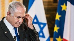 Izraelský premiér na návštěvě ve Francii