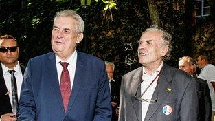 Miloš Zeman a Karel Srp