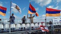 Fanoušek arménského týmu