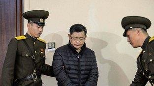 Kanadský pastor Hyeon Soo Lim během soudního procesu