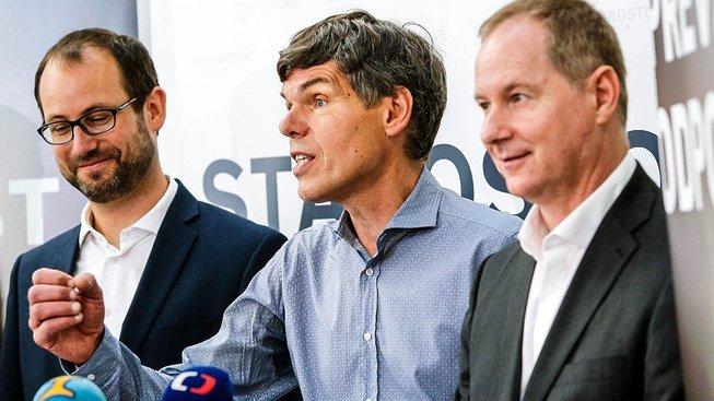 Jan Farský, Dalibor Dědek a Petr Gazdík