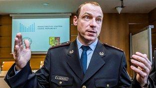 Ředitel Krajského ředitelství pražské policie Miloš Trojánek
