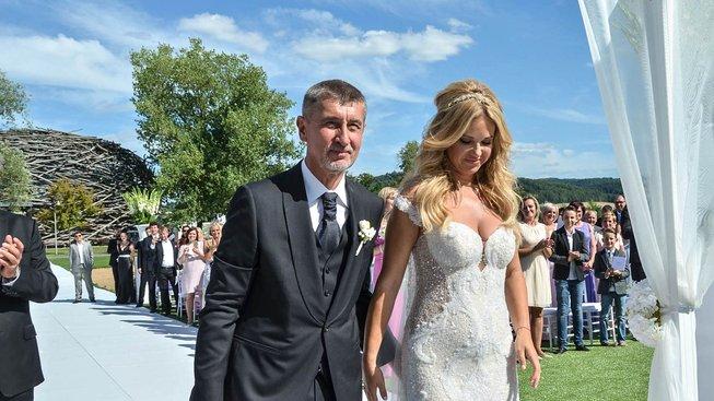 Babišova svatba na Čapím hnízdě