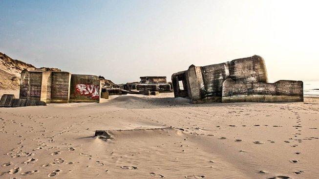 Nacistické bunkry. Ilustrační snímek