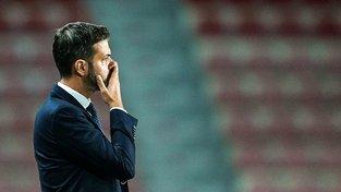 Andrea Stramaccioni bojuje nejen s herním výkonem Sparty, ale i s xenofobními fanoušky