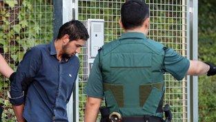 Jeden ze zatčených, čtyřiatřicetiletý Maročan Sálih Karíb
