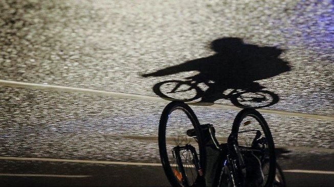 Cyklista v Moskvě