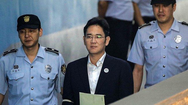 Odsouzený dědic Samsungu I Če-jong