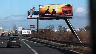 Senátoři vidí to, že zmizí některé bilboardy od dálnic, jako příliš velký zásah do podnikání
