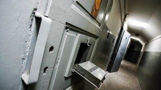 Cely předběžného zadržení v Karlových Varech. Ilustrační snímek