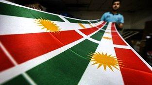 Kurdská vlajka
