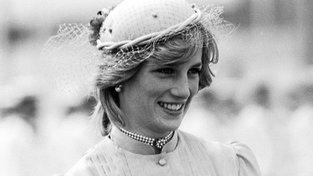 Lady Diana v roce 1985 během své cesty po Austrálii