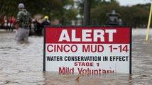 Následky hurikánu Harvey v Texasu