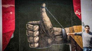 Berlínská zeď. Ilustrační snímek