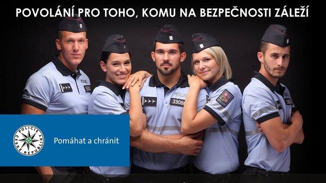 Reklama na eskortní služby, nebo náborová kampaň policie?