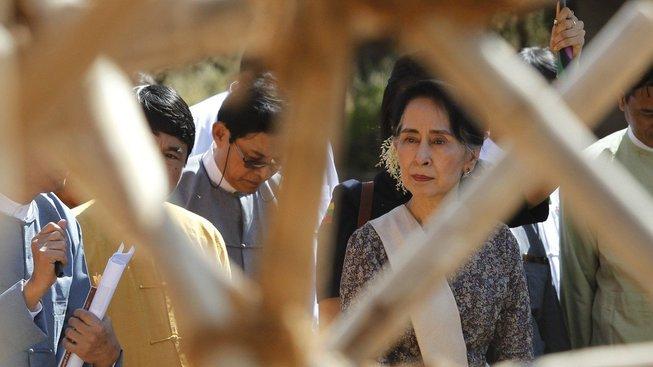 Su Ťij zkritizovala údajnou dezinformační kampaň provázející krizi kolem menšiny Rohingů