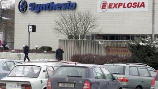 Pardubická firma Explosia je závislá na dodávkách společnosti Synthesia z holdingu Agrofert