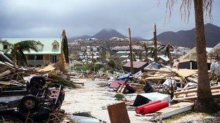 Následky hurikánu Irma v Karibiku a na Floridě