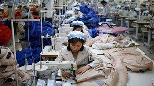 Textil byl loni druhou největší vývozní položkou KLDR.