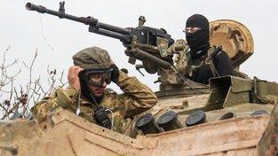 Bojovníci z řad syrských rebelů