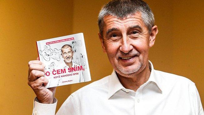 Andrej Babiš pokřtil svou knihu na jaře