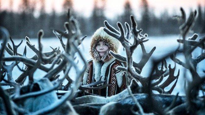 Příslušník nomádského kmene Nenets