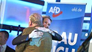 AfD slaví historický volební úspěch