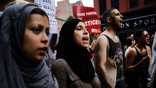 Červencové protesty proti Trumpově imigrační politice