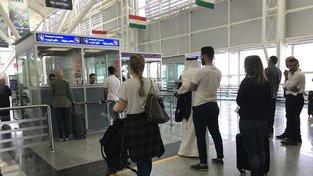Mezinárodní letiště v Irbílu. Většina aerolinií na výzvu Bagdádu lety do Kurdistánu zrušila