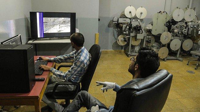 Digitalizace snímků ve společnosti Afghánský film
