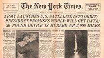 60 let od vypuštění družice Sputnik
