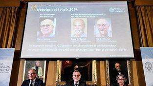 Vědci byli oceněni za detekci gravitačních vln