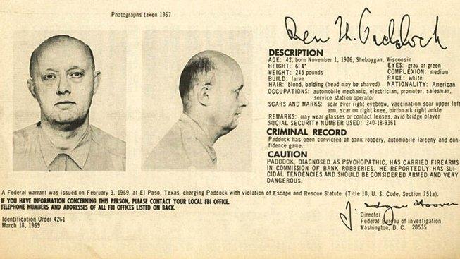 Benjamin Hoskins Paddock, otec střelce z Las Vegas