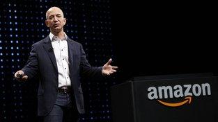 Šéf Amazonu Jeff Bezos