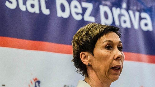 Prezidentka Exekutorské komory ČR Pavla Fučíková