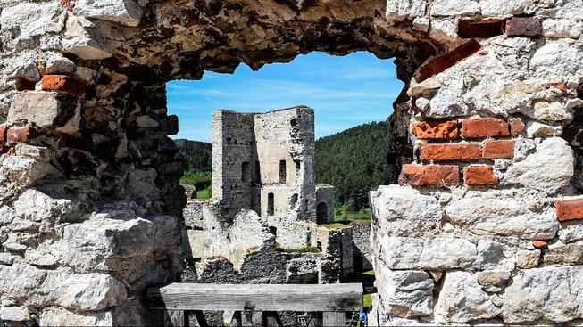 Rabí je nejrozsáhlejší zřícenina v Česku