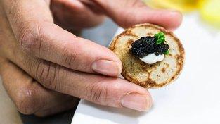 Čínský kaviár dobyl ty nejluxusnější restaurace. Ilustrační snímek